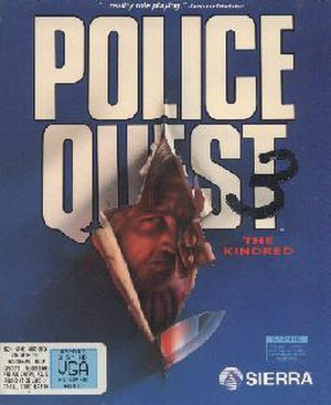 Police Quest III: The Kindred - MS-DOS cover art