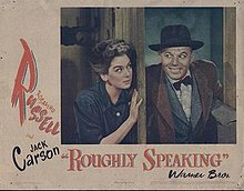 Poster of the movie Roughly Speaking.jpg