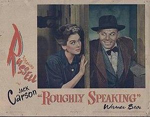 Roughly Speaking (film) - Lobby card