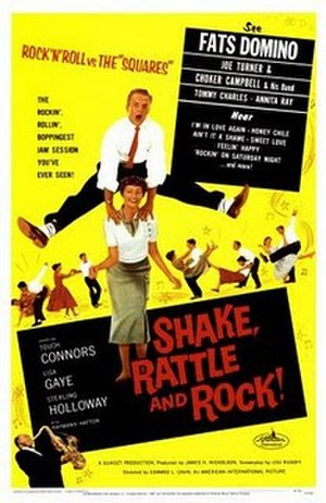 Shake, Rattle & Rock! (1956 film) - Image: Poster of the movie Shake, Rattle & Rock!