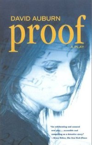 Proof (play) - Image: Proof, A Play