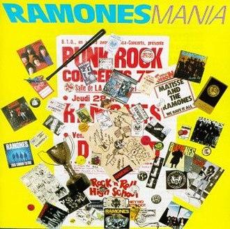 Ramones Mania - Image: Ramones Ramones Mania cover