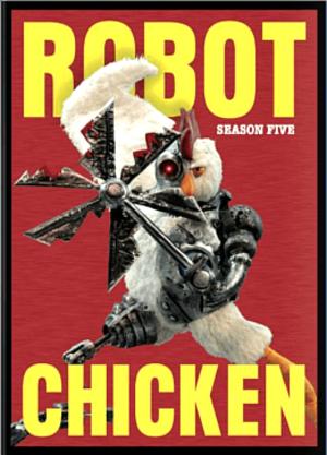 Robot Chicken (season 5) - DVD cover