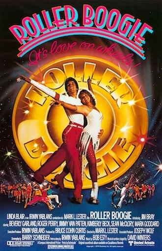 Roller Boogie - Promotional film poster