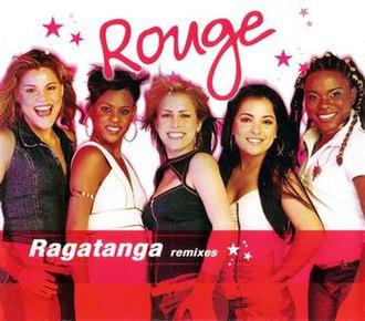 The Ketchup Song (Aserejé) - Image: Rouge ragatanga remixes