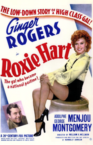 Roxie Hart (film) - 1942 Theatrical Poster