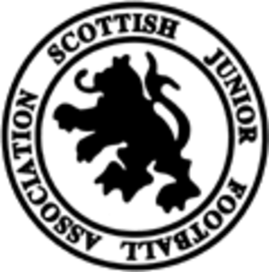 Scottish Junior Football Association - The first incarnation of the SJFA logo