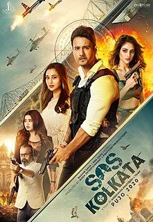 <i>SOS Kolkata</i> 2020 Indian Bengali action-thriller film