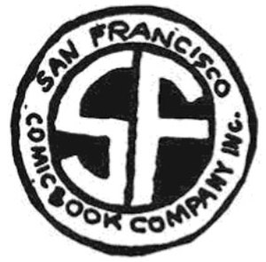 Gary Arlington - The San Francisco Comic Book Company logo