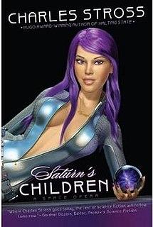 <i>Saturns Children</i> (novel) book by Charles Stross