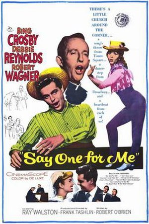 Say One for Me - Image: Say One for Me