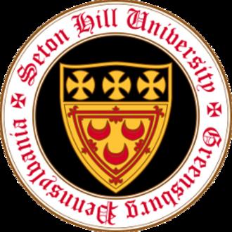 Seton Hill University - Image: Seton Hill University seal