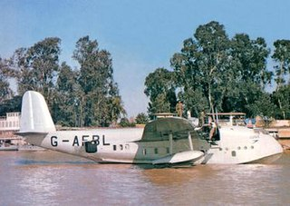 Short Empire flying boat