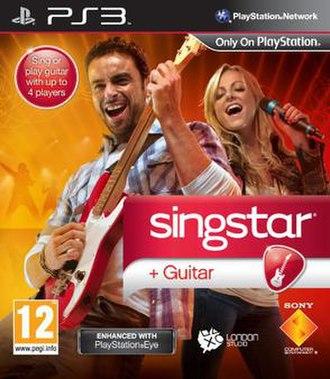 SingStar Guitar - European Cover Art