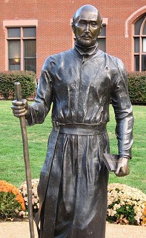 Saint Louis University - Saint Ignatius statue