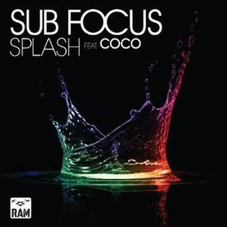 Sub Focus featuring Coco — Splash (studio acapella)