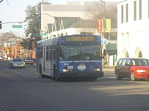 Santa Rosa CityBus - A Santa Rosa CityBus operating as Route 10 (Coddingtown)