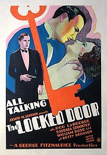 <i>The Locked Door</i> 1929 film by George Fitzmaurice
