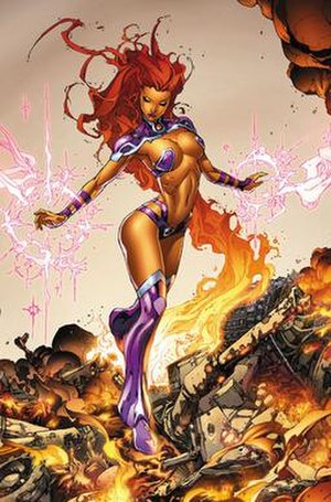 Starfire (Teen Titans) - Image: Starfire Redhoodand Outlaws 01