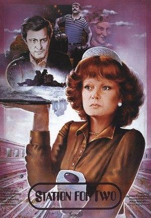 Station for Two - 1983 English film poster by Aleksandr Makhov