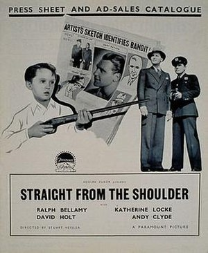 David Holt (American actor) - Holt in action in the 1936 film Straight from the Shoulder with Ralph Bellamy.