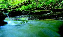 Stream in North Bay, Ontario, Canada