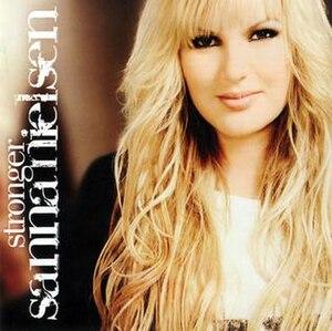 Stronger (Sanna Nielsen album) - Image: Stronger Sanna Nielsen