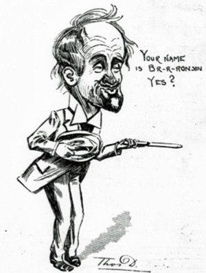 The Belle of New York (musical) - J. E. Sullivan as Karl von Pumpernick