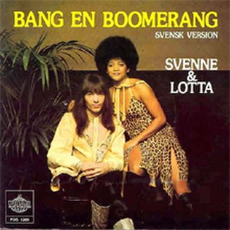 Bang-A-Boomerang - Image: Svenne & Lotta Bang En Boomerang