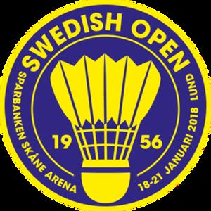 Swedish Open (badminton) - Image: Swedish open info 2018 farg t