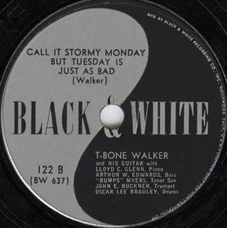 Call It Stormy Monday (But Tuesday Is Just as Bad) - Image: T Bone Walker Call It Stormy Monday