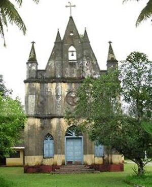 Thrikkunnathu Seminary - St Mary's Church at Thrikkunnathu Seminary in Aluva, 2009.