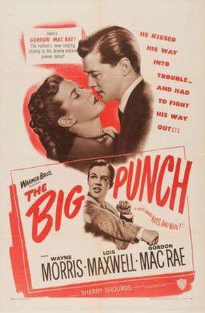 The Big Punch (1948 film) - Poster for The Big Punch