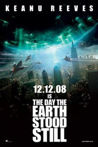 The Day the Earth Stood Still (2008 film) - Theatrical release poster