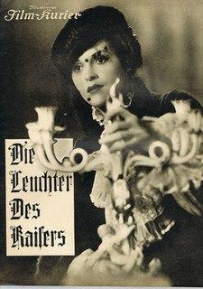 <i>The Emperors Candlesticks</i> (1936 film) 1936 film by Karl Hartl