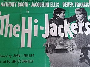 The Hi-Jackers - British quad poster