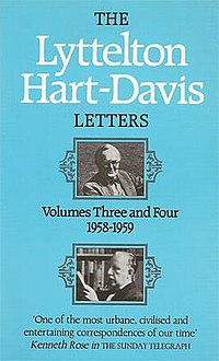 The Lyttelton – Hart-Davis Letters (book cover).jpg