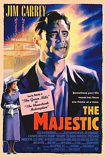 <i>The Majestic</i> (film) 2001 film by Frank Darabont