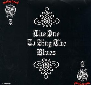 The One to Sing the Blues single