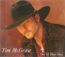 Tim McGraw - One of These Days single.png
