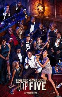 <i>Top Five</i> 2014 film by Chris Rock