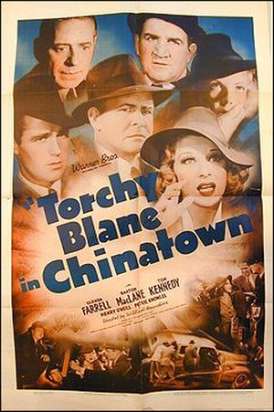 Torchy Blane in Chinatown - Theatrical release poster