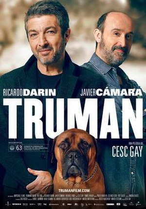 Truman (2015 film) - Original Spanish theatrical release poster