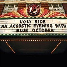 Ugly Side - An Acoustic Evening With Blue October (Blue October album - cover art).jpg