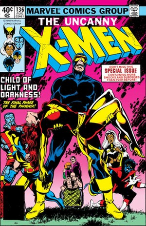 The Dark Phoenix Saga - Image: Uncanny 136
