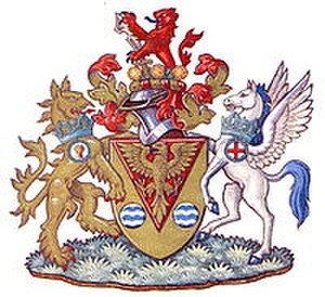 Municipal Borough of Uxbridge - Image: Uxbridge Borough Council coat of arms