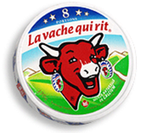 The Laughing Cow - Image: Vache qui rit