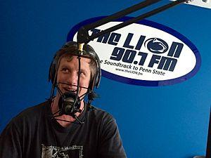 WKPS - Image: WKPS On air studio