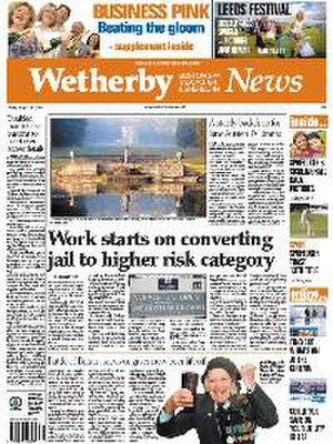 Wetherby News - Wetherby News front page