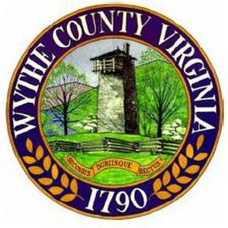 Wythe County, Virginia - Image: Wythe Seal